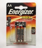 Элемент питания Energizer MAX LR06 (AA) BL2 - уп. 2шт