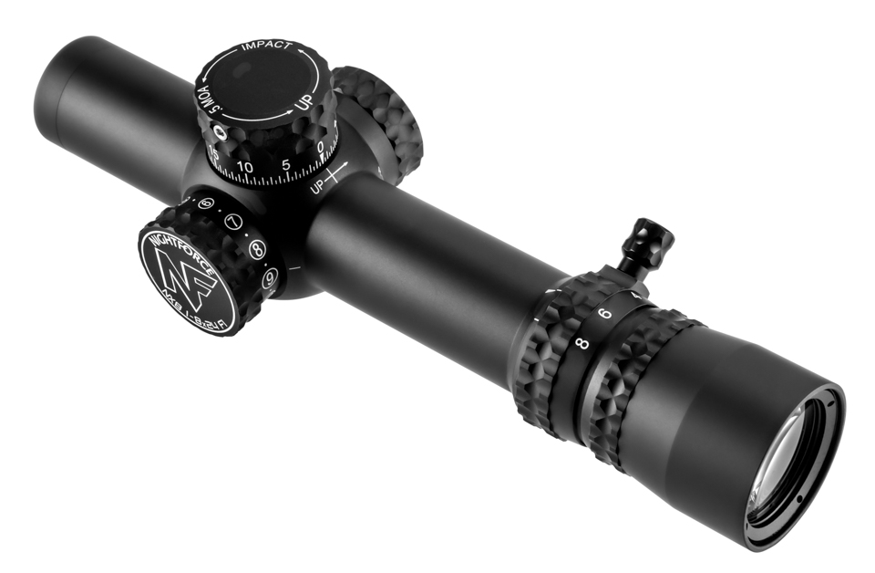 Оптический прицел NightForce NX8 1-8x24 F1 ZS .2 MR PTL FC-Mil (C598)